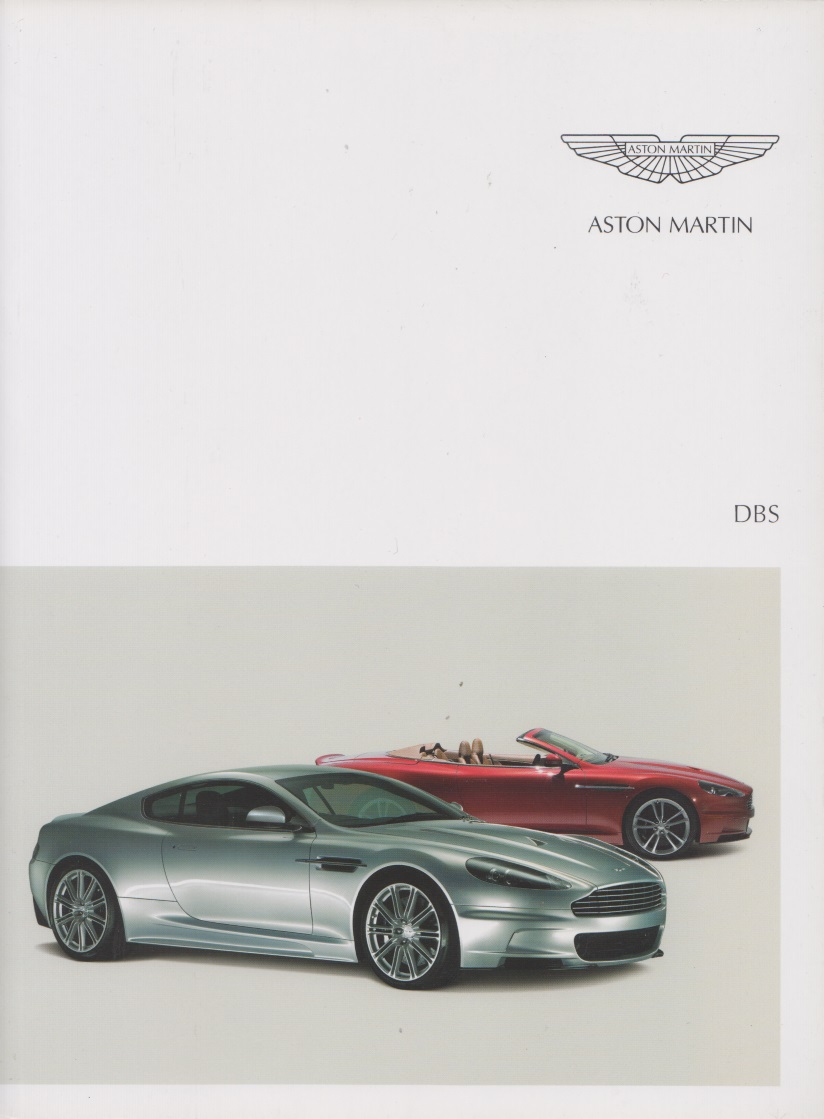 aston martin dbs prospekt 2008 ebay. Black Bedroom Furniture Sets. Home Design Ideas